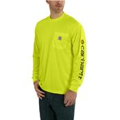 Carhartt Force Color-Enhanced Graphic Long-Sleeve T-Shirt