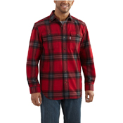 Carhartt Hubbard Plaid Long-Sleeve Shirt