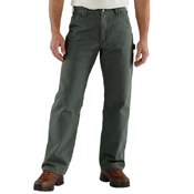 Washed Duck Flannel Lined Pant