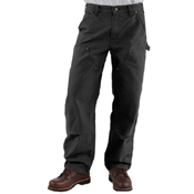Washed Duck Double-Front Work Dungaree