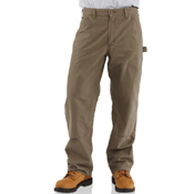 Double-Front Canvas Work Dungaree