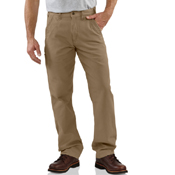 Canvas Khaki Relaxed Fit Pant