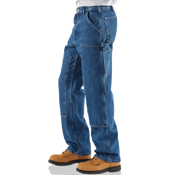 Carhartt Loose/Original-Fit Double-Front Washed Logger Dungaree
