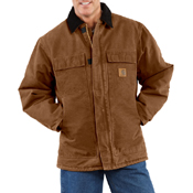 Sandstone Traditional Arctic Quilt-Lined Coat