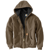 Sandstone Quilted Flannel-Lined Active Jacket