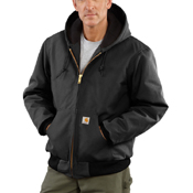 Duck Quilted Flannel-Lined Active Jacket