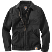 Carhartt Twill Work Midweight Quilt Lined Jacket