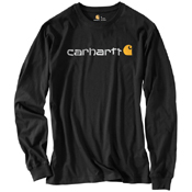 Carhartt Long-Sleeve Logo T-Shirt