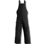 Extremes Zip To Waist Arctic Quilt-Lined Bib Overalls