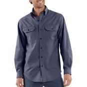 Long-Sleeve Chambray Shirt