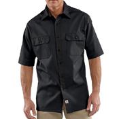 Short-Sleeve Twill Work Shirt