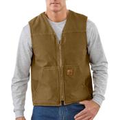 Sandstone Rugged Sherpa Lined Vest