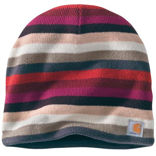 Carhartt Striped Knit Fleece Lined Hat