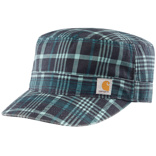 Carhartt Plaid Military Women's Cap