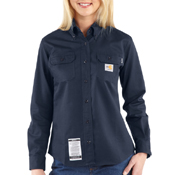 Carhartt Flame-Resistant Twill Women's Shirt