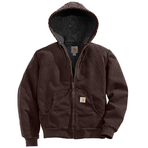 Carhartt Sandstone Active Quilted Flannel Women's Jacket