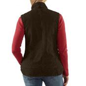 Sandstone Mock-Neck Sherpa-Lined Women's Vest