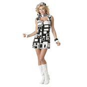 California Woman Groovy Chick Costumes