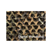 3 D Digital Woodland Ultra-Lite Camouflage 7 ft 10 inch x 9 ft 10 inch Netting