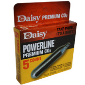 5pcs PowerLine CO2 Cylinders