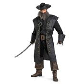 Blackbeard Deluxe Adult