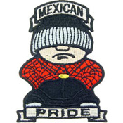 Patch-Mexican Pride