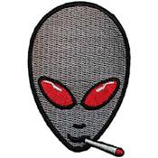 Patch-Alien Smoking