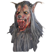 Brown Wolf Costume Mask