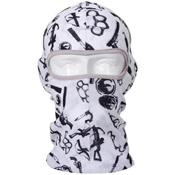 Printed Single Hole Lightweight Balaclava Mask