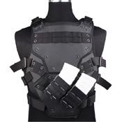 PVC Combat Vest Black