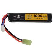 11.1V 1000mAh 15C LiPo Stick Airsoft Battery