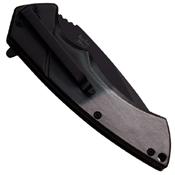 Dark Side Blades 2 Tone Aluminum Handle Folding Knife