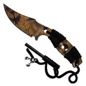 ELK Ridge Professional Full Tang Laser Cut Out Fixed Blade Knife