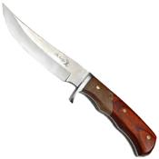 Elk Ridge Outdoor Burl Wood Handle 9.5 Inch Fixed Blade Knife