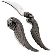 Fantasy Master Skull Feather Knife