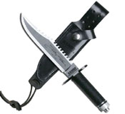 Mini Rambo II Hunting Fixed Blade Knife Set