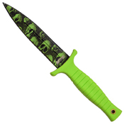 Skull Camo Fixed Blade Knife