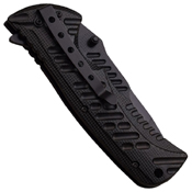 A946 Half Serrated Tanto-Blade Folding Knife