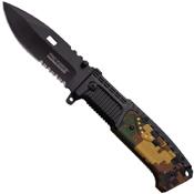 Tac Force 928 Speedster Black Finish Blade Knife
