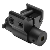 Compact Red Laser Black Sight With Weaver Mount