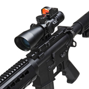 NcSTAR 34mm Scope Mount and Micro-Dot Base