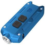 Tip 360 Lumen Keychain Flashlight - Blue