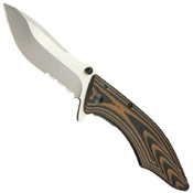 Conquer Serrated Knife - 3 Inch