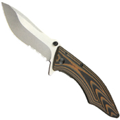 Conquer Serrated Knife - 3.5 Inch