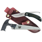 Outdoor Edge SwingBlade Skinner And Saw Set - Black