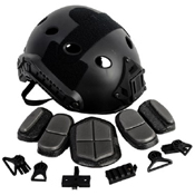 Cybergun AMP Core PJ Helmet - Black
