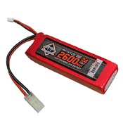 2600mAh 7.4V LiPO 20C Mini Battery