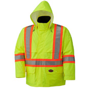 Pioneer Hi-Viz Safety Jacket with Detachable Hood