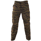 Button Fly Polycotton Twill BDU Pants