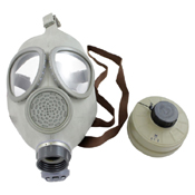 Czech CM4 Gas Mask and 40mm NATO Filter